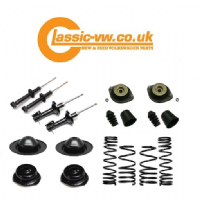 Complete Suspension Kit with Eibach Springs, Mk1 Golf, Jetta, Scirocco
